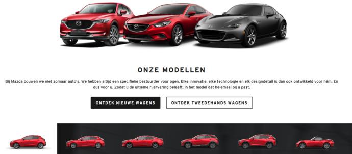 Mazda Vanborm Our Partnership.